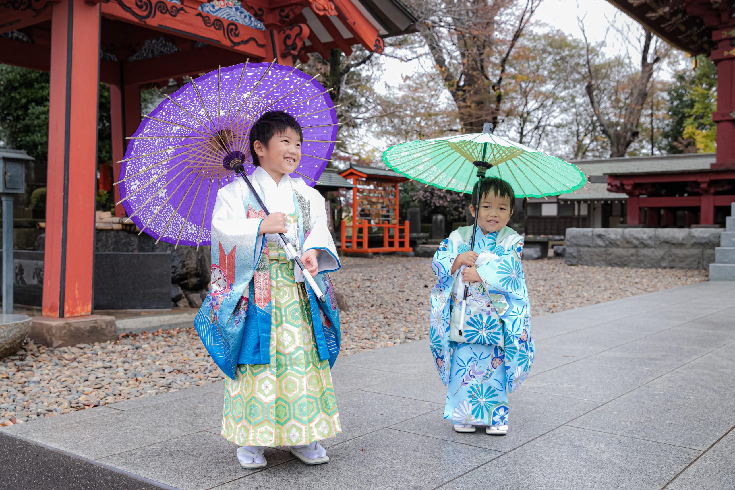 番傘だぁ~。楽しいなっ。(^^)/